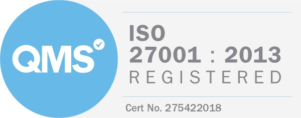 ISO27001-2013 QMS Registered