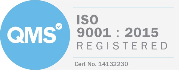 ISO9001-2015 QMS Registered